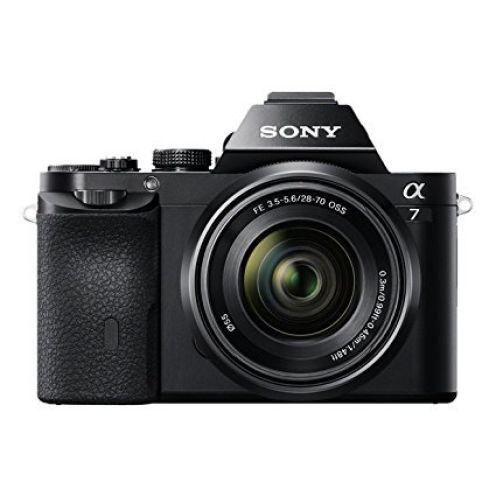 Sony Alpha 7 E-Mount ohne Objektiv